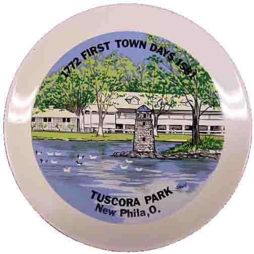 1981 First Town Days Souvenir Plate