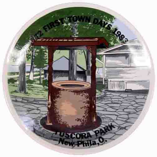 1983 First Town Days Souvenir Plate