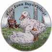 1991 First Town Days Plate