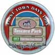 1995 First Town Days Plate