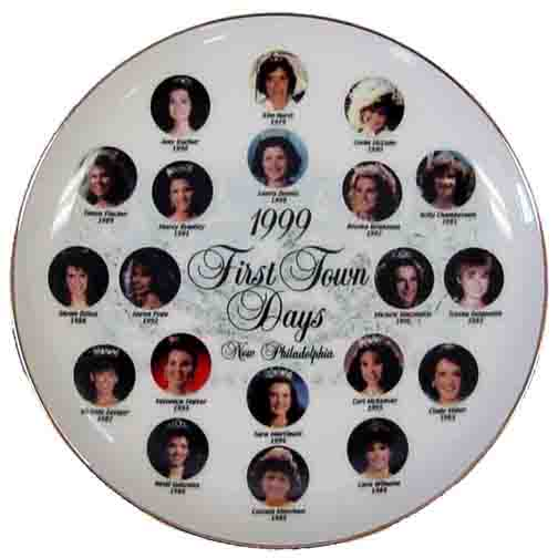 1999 First Town Days Souvenir Plate