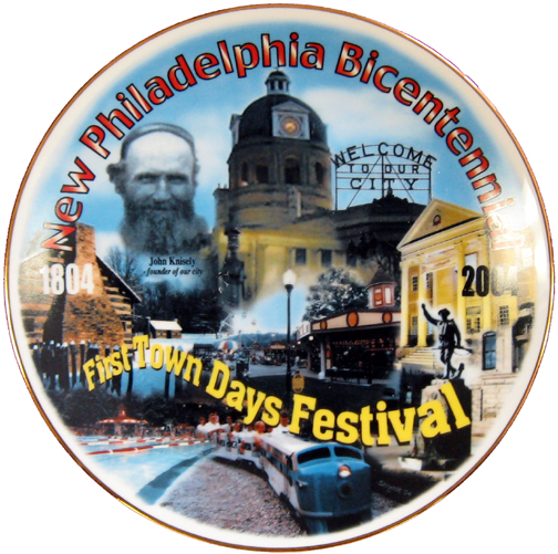 2004 First Town Days Souvenir Plate