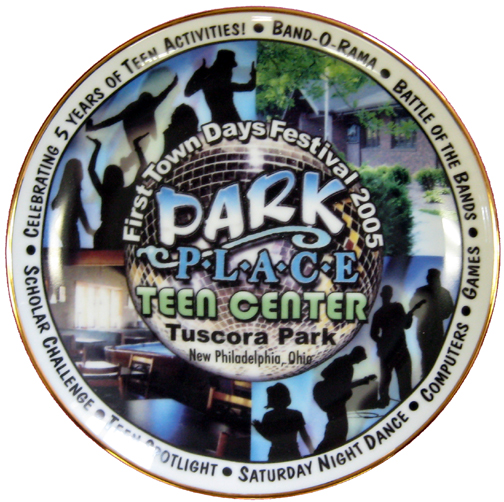 2005 First Town Days Souvenir Plate