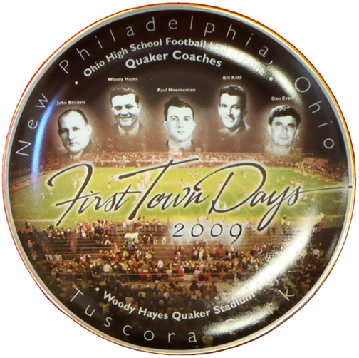 2009 First Town Days Souvenir Plate