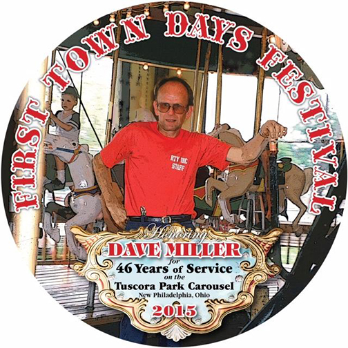 2015 First Town Days Souvenir Plate